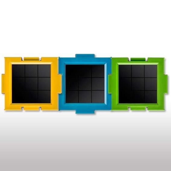 Clicc-Solarmodule ohne Basisgerät 3 Stück in den Farben deiner Wahl in der limitierten Himmeledition, Ladenpreis 21,90€