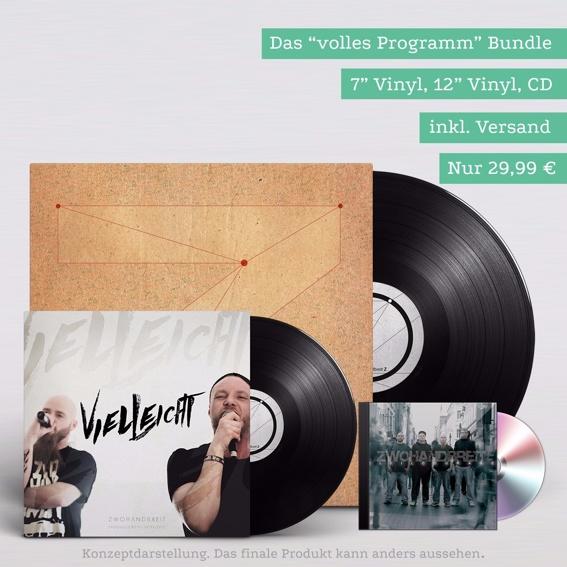 """Das volle Programm (7"""", 12"""", CD inkl. Versand)"""