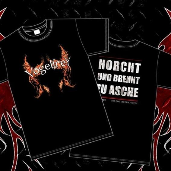 """T-Shirt """"Flamme bin ich sicherlich"""""""