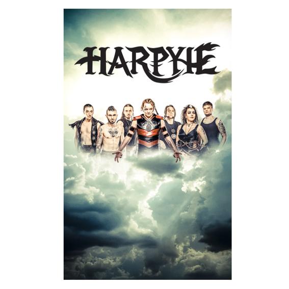 HARPYIE Poster mit Unterschriften