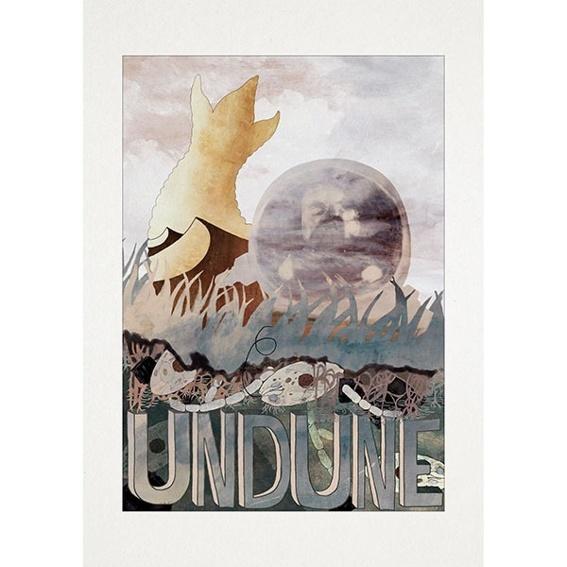 Undune-Kunstdruck-Poster